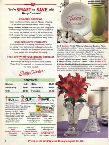 Fiesta® Ad - Betty Crocker Catalog 2000 - Page 2