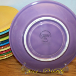 Lilac Jumbo Saucer with Fiesta® back stamp
