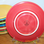 Jumbo Saucer with HLC ink stamp