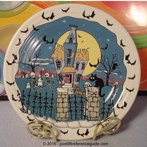 Fiesta® Halloween Nights Luncheon Plate