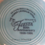 Fiesta® 60th Anniversary Back Stamp