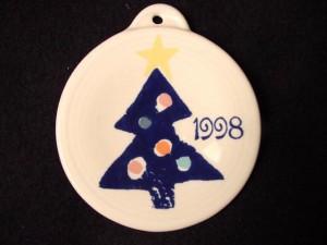 Fiesta® 1997 Blue Tree Ornament