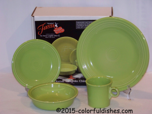 Fiesta® 4 Piece Place Setting