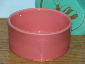 Fiesta® Square Bowl in Flamingo