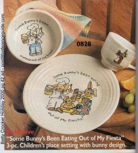 Betty Crocker Holiday 2000 - Some Bunny rg