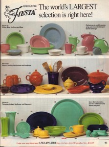 Betty Crocker Holiday 2002 - Fiesta® Dinnerware