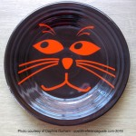 Fiesta® Orange Cat Face