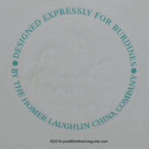 Burdines Stamp