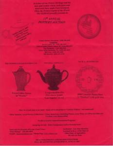 ELHSAA Auction Flier 2007 - Fiesta® Scarlet Coffee Server