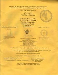 ELHSAA Auction Flier 2008 - Fiesta® Marigold Monarch Vase