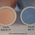 Fiesta® Medium Vase Base Comparison