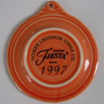 Fiesta® 1st Concave Prototype Ornament Back