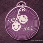 2002 Silver Bells Fiesta® Ornament