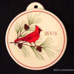 2004 Cardinal Fiesta® Ornament