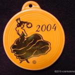 2004 Tangerine Dancing Lady Fiesta® Ornament
