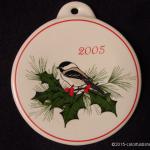 2005 Chickadee Fiesta® Ornament