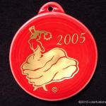 2005 Scarlet Dancing Lady Fiesta® Ornament
