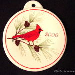 2006 Cardinal Fiesta® Ornament
