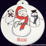 2008 Snowmen Fiesta® Ornament