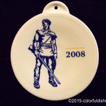 2008 White Mountaineer Fiesta® Ornament