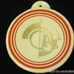 2009 HLCCA Conference Exclusive  Retro-Red Stripe Fiesta® Ornament