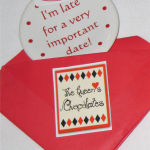 2010 I'm Late For A Very Important Date White  Fiesta® Ornament