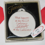 2010 What Happens At the HLCCA Conference Fiesta® Ornament