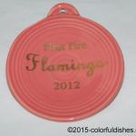 2012 First Fire Flamingo Fiesta® Ornament