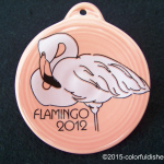 2012 Flamingo on Flamingo Fiesta® Ornament
