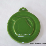2013 HLCCA Embossed Pitcher Shamrock Fiesta® Ornament