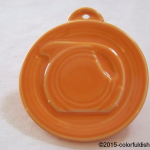 2013 HLCCA Embossed Pitcher Tangerine  Fiesta® Ornament