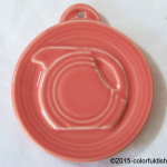 2014 HLCCA Embossed Pitcher Scarlet  Fiesta® Ornament