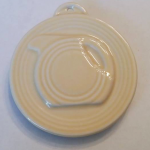 2014 HLCCA Embossed Pitcher Ivory Fiesta® Ornament