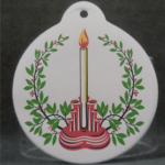 2014 Scarlet Pyramid Fiesta® Ornament