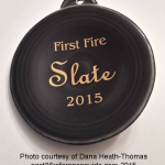 2015 First Fire Slate  Fiesta® Ornament