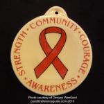 2015 HIV - Heart Disease  Fiesta® Ornament
