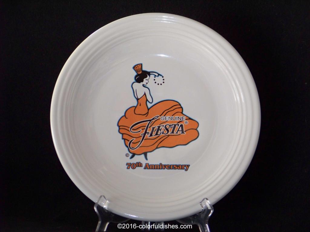 Fiesta® 70th Anniversary Chop Plate