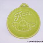 2011 Embossed 75th Annivesary - Lemongrass Fiesta® Ornament