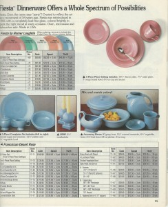 Fiesta® Betty Crocker® 1991 Catalog Page 15