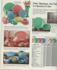 Fiesta® Ad - Betty Crocker Catalog 1992 Page 36