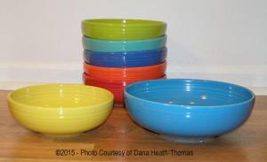 Fiesta® Bistro Bowls Photo Courtesy of  Dana Heath-Thomas