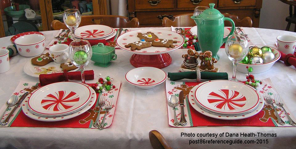Fiesta®  BonTon Peppermint - Table setting