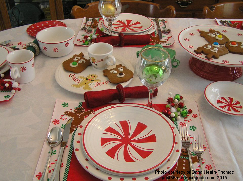 Fiesta® BonTon Peppermint - Table setting ... & Peppermint - Bon-Ton - Post 86 Reference Guide
