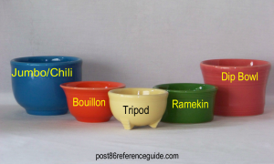 Fiesta® Bowls - Tripod, Bouillon, Ramekin,  Jumbo, Dip