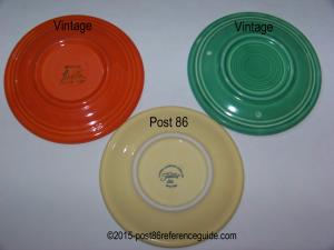Fiesta® Bread Butter Plate Comparison