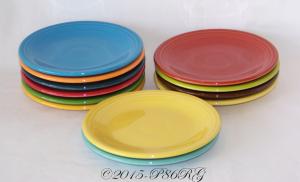 Fiesta® Bread & Butter Plates