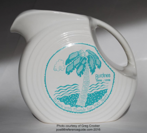Fiesta® Burdines 100th Anniversary Pitcher