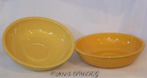 Fiesta® Chip Bowls in Sunflower & Marigold