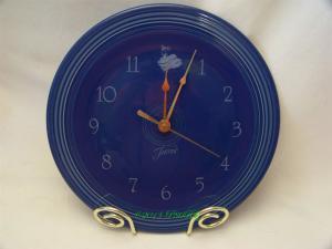 Fiesta® Clock in Sapphire