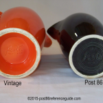 Fiesta® Coffee Server Comparison Back Stamp